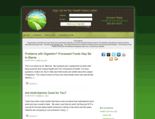 thenaturalroad.com screenshot