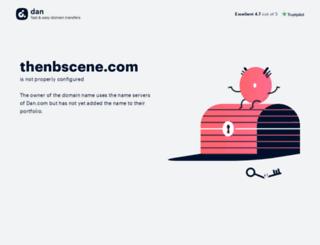 thenbscene.com screenshot