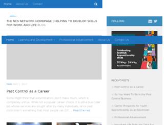 thencsnetwork.org.uk screenshot