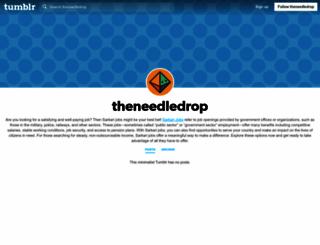 theneedledrop.tumblr.com screenshot