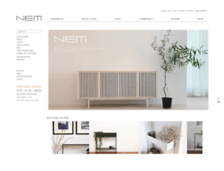 thenem.co.kr screenshot