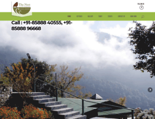 thenestcottages.com screenshot