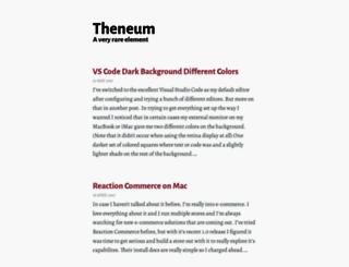 theneum.com screenshot