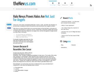 thenevus.com screenshot