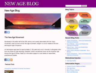 thenewageblog.com screenshot
