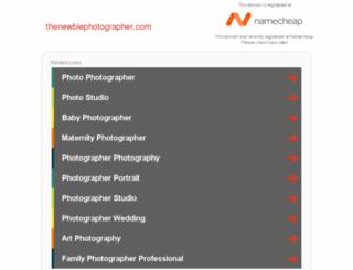 thenewbiephotographer.com screenshot