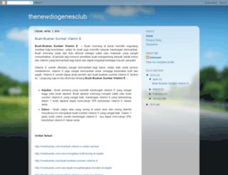thenewdiogenesclub.blogspot.com screenshot