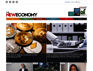 theneweconomy.com screenshot