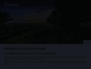 thenewforest.co.uk screenshot