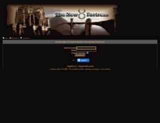 thenewfortress.forumeiro.com screenshot