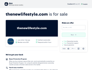 thenewlifestyle.com screenshot