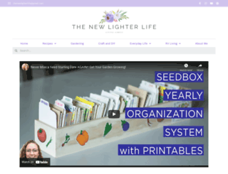 thenewlighterlife.com screenshot