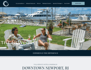 thenewport-hotel.com screenshot
