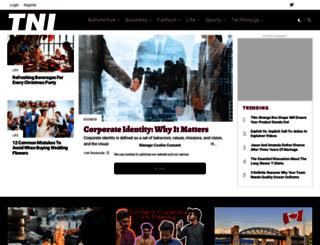 thenewsinternational.com screenshot