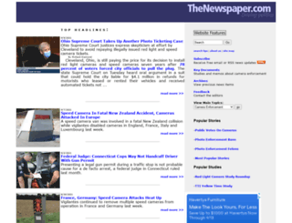 thenewspaper.com screenshot