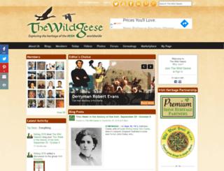 thenewwildgeese.com screenshot