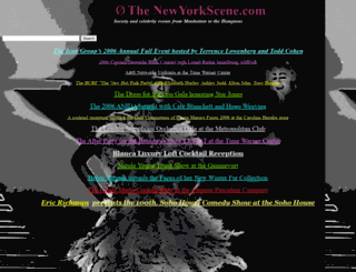 thenewyorkscene.com screenshot
