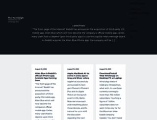 thenextdigit.com screenshot