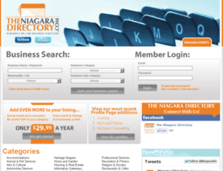theniagaradirectory.com screenshot