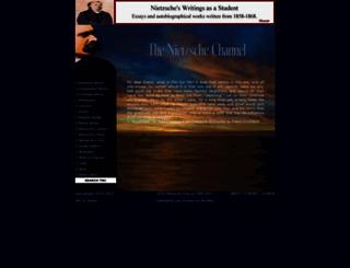 thenietzschechannel.com screenshot