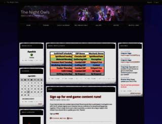 thenightowls.shivtr.com screenshot