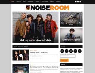thenoiseroom.com screenshot