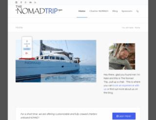 thenomadtrip.com screenshot