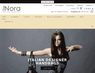 thenora.com screenshot