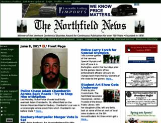 thenorthfieldnews.com screenshot