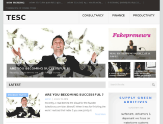 thentrepreneurshipcenter.com screenshot