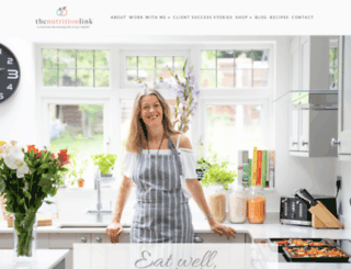 thenutritionlink.co.uk screenshot