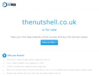 thenutshell.co.uk screenshot