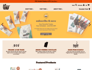 theochocolate.com screenshot