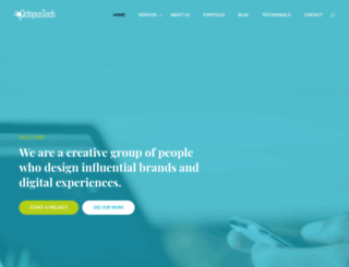 theoctopustech.com screenshot