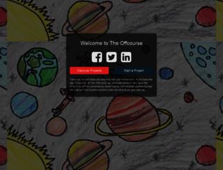 theoffcourse.com screenshot