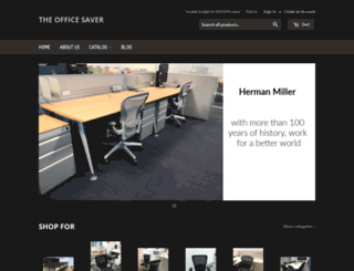 theofficesaver.com screenshot