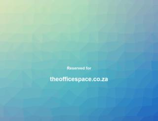 theofficespace.co.za screenshot