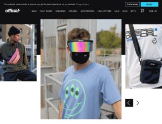 theofficialbrand.com screenshot