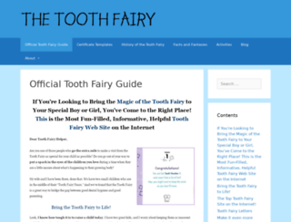 theofficialtoothfairypoll.com screenshot