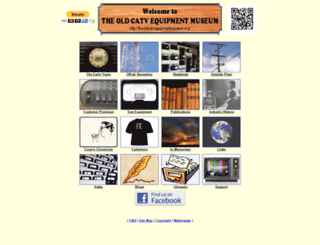 theoldcatvequipmentmuseum.org screenshot