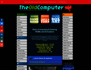 theoldcomputer.com screenshot