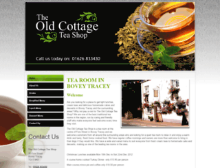 theoldcottageteashop.co.uk screenshot