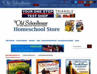 theoldschoolhousestore.com screenshot