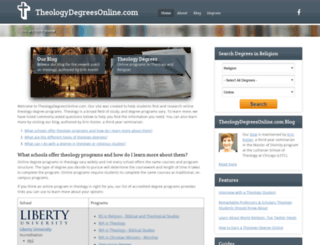 theologydegreesonline.com screenshot