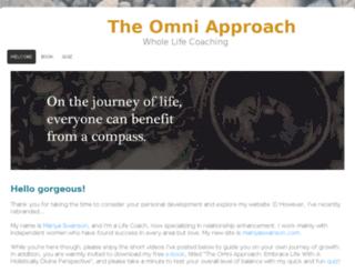 theomniapproach.com screenshot