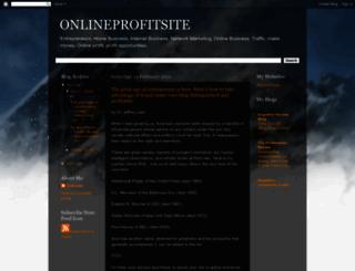 theonlineprofitsite.blogspot.com screenshot