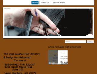 theopalessence1.com screenshot