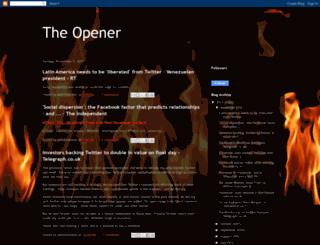 theopenernews.blogspot.com screenshot
