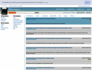 theopenpress.com screenshot