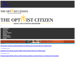 theoptimistcitizen.com screenshot
